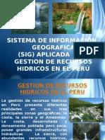 152539056 Sig Aplicado a Gestion de Recursos Hidricos