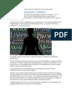 Reseña Del Libro Mindfulness Atención Plena de Andy Puddicombe
