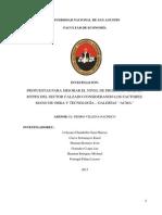 Propuestas Para Mejorar El Nivel de Productividad en Mypes Del Sector Calzado Considerando Los Factores Mano de Obra y Tecnología – Galerías Acma