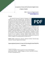 Presencia e Inmigración Asiática en Ocumare Del Tuy