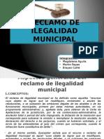 Reclamo de Ilegalidad Municipal Final