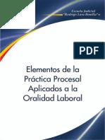 7 Elementos de La Practica Procesal Aplicados a La Oralidad Laboral