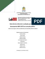 Nota Tecnica LABEEE NBR 15 575