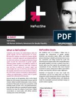 HeForShe Brief