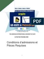 laiu-haiti pieces pour etre admis