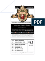 AndroidNetrunner v2.1 rules cheat sheet