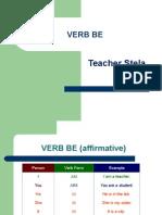 2-verb be