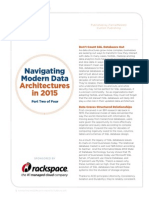 Navigating Modern Data Architectures in 2015
