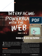 Interfacing Pb With the Web 1