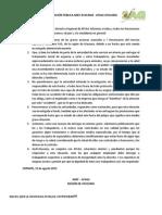 Declaración Pública Anef Atacama-Afsag