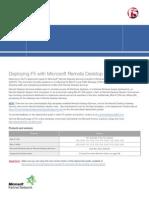 f5 Microsoft Remote Desktop Services Dg