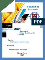 Informe de coyuntura 2014-2015. Perú