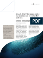 Smart Analytics Accelerates the Realization of Value for Utilities