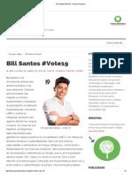 Arq Bill Santos #Vote19 - Parque Ibirapuera
