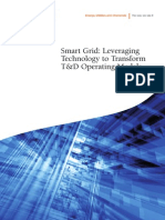 Smart Grid Operational Services - Leveraging Technology to Transform TD Operating Models POV