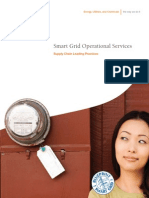 Smart Grid Operational Services - Supply Chain Fact Sheet