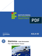 IFMS Eletronica 02 Diodo Semicondutor