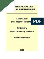 Resumen Liderazgo Esteban Naranjo PDF