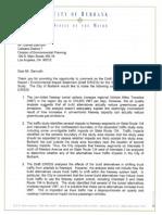 City of Burbank - 710 Letter