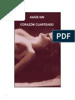 Anaís Nin Corazón Cuarteado
