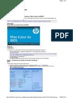 Ordinateurs de Bureau Et Stations de Travail HP Et Compaq - Mise à Jour Du BIOS