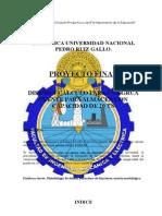 Grúa Puente FIME UNPRG Informe