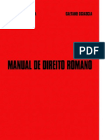Alexandre Correia e Gaetano Sciascia - Manual de Direito Romano