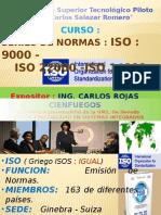 Series de norma ISO 9000-14000-2200..