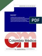 Colombia Medica Volumen 41 n2 (Abril-junio), 2010