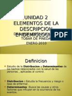 Unidad 2 Epidemiologia Descriptiva