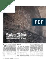 Modern TBM in India