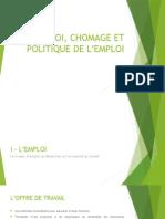 Emploi, Chomage Et Politique de L_emploi. Pptx (1)