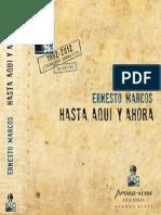 Hasta Aquí y Ahora (Literatura Dramática 1992-2012), De Ernesto Marcos
