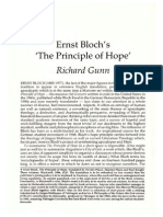 "A summary of ""The principle of hope """