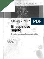 EL ESPINOSO SUJETO EL CENTRO AUSENTE DE LA ONTOLOGIA POLITICA (OCR).pdf