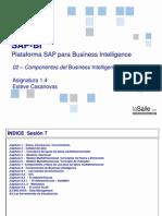 222 SAP BI 2014 Introducción a BI. Componentes de Business Intelligence_Esteve_Casanovasv2