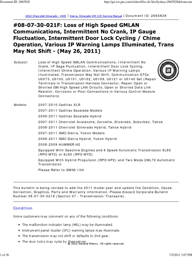 2011-09-08_230432_gm_lan | Electrical Connector | Chevrolet Silverado