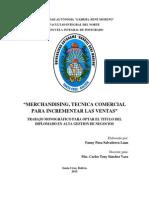 TECNICA COMERCIAL PARA INCREMENTAR LAS VENTAS