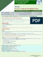 Candidature -Ingenieur- 1 2015 16
