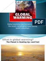 Global WARMING presentation.