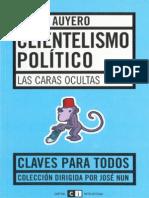 Javier Auyero - Clientelismo político
