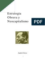 Gorz, André - Estrategia Obrera y Neocapitalismo [Teoría Política de Sartre]