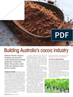 Building Australia's Cocoa Industry