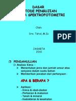 Dasar Spektro