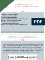 INTRODUCCIÓN A LA COMUNICACION