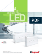 Catalogo Luminarias LED Legrand