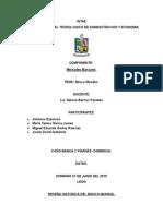 Reseña Historica de Banco