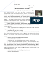 Prova 1 Bimestre Portugues