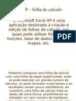 Excel XP –Apresppoint
