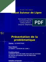 PPE Presentation - Robot suiveur de ligne